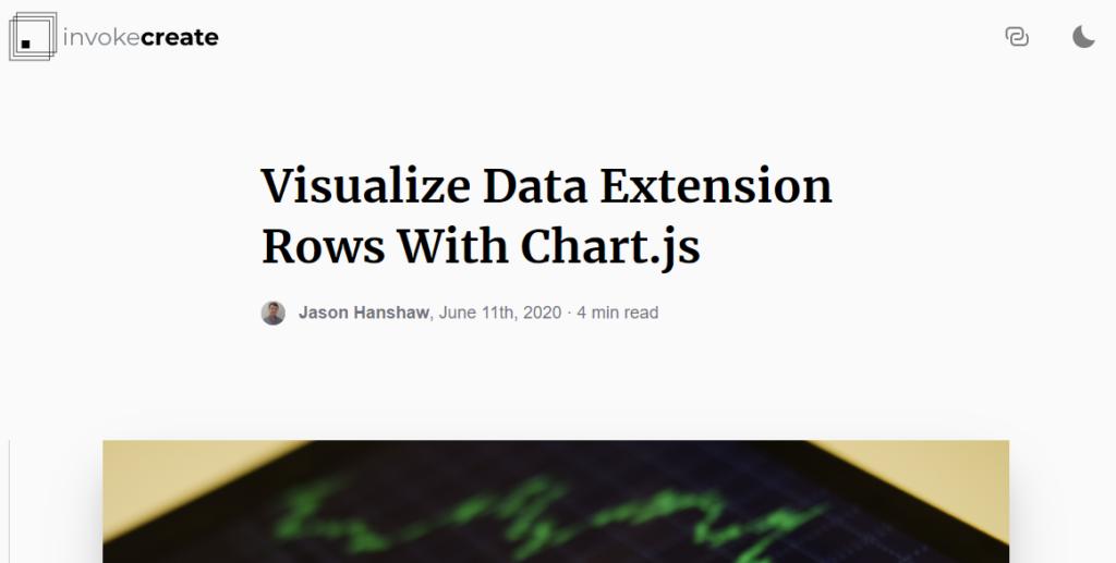 inovkecreate chart.js data extension